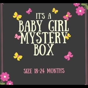 Other - BABY GIRL MYSTERY BOX 18-24 months